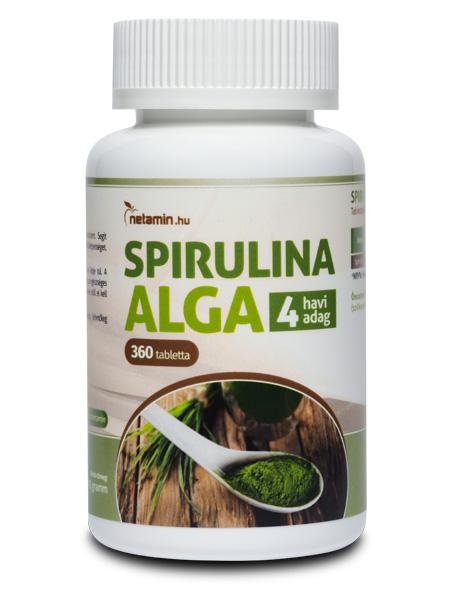 Netamin Spirulina Alga tabletta
