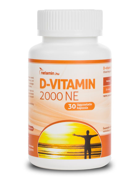 Netamin D-vitamin kapszula (30 db)