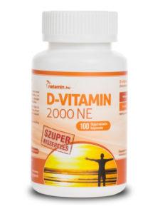 Netamin D-vitamin kapszula SZUPER kiszerelés