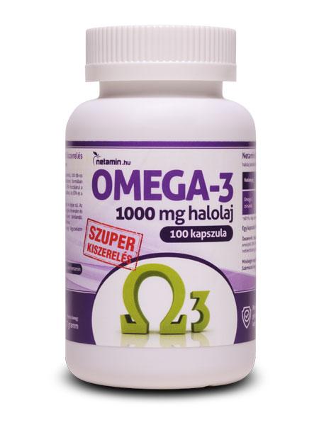 Netamin Omega-3 kapszula SZUPER kiszerelés