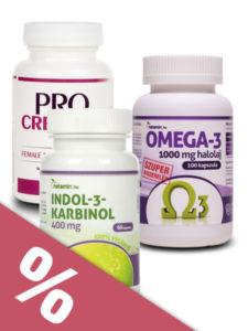 Speciális termékcsomag endometriózis esetére gyógynövényekkel és vitaminokkal