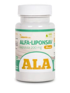 Netamin Alfa-liponsav (ALA) kapszula 200 mg