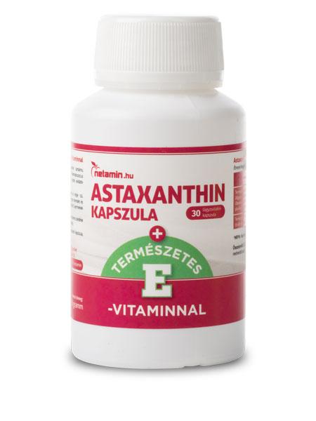 Netamin Astaxanthin kapszula E-vitaminnal