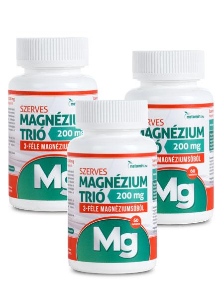 magnézium magas vérnyomás esetén 2 fok