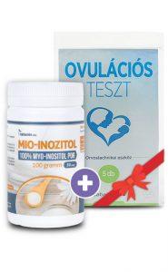 Netamin Mio-inozitol por + AJÁNDÉK Babalesz Ovulációs teszt