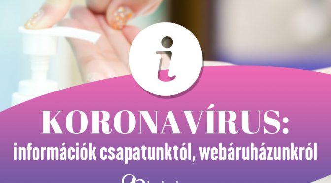 Koronavírus közlemény