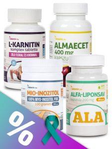 PCOS / Inzulinrezisztencia + Fogyás válogatáscsomag