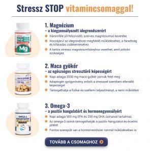 Stressz STOP vitamincsomaggal!